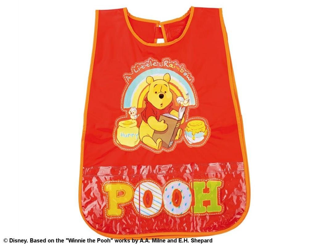 Dětská zástěrka červená Medvídek Pú / Winnie The Pooh