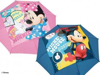 Dětský automatický deštník Minnie Mouse / Mickey Mouse 45 cm
