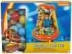 Nafukovací bazének se střechou a 20 balónky Blaze/ Plamínek a Čtyřkoláci