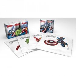 Kapesníky Avengers s potiskem 4 vrstvé, folie 6 balíčků