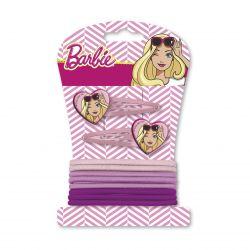Gumičky a sponky do vlasů Barbie