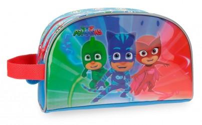 Kosmetická taštička / penál Pj Masks 26 x 16 x 12 cm Greg / Connor / Amaya