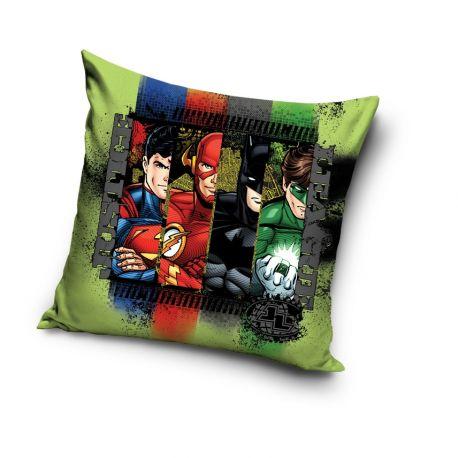 Chlapecký polštář Justice League 40 x 40 cm Batman / Superman / Iron Man