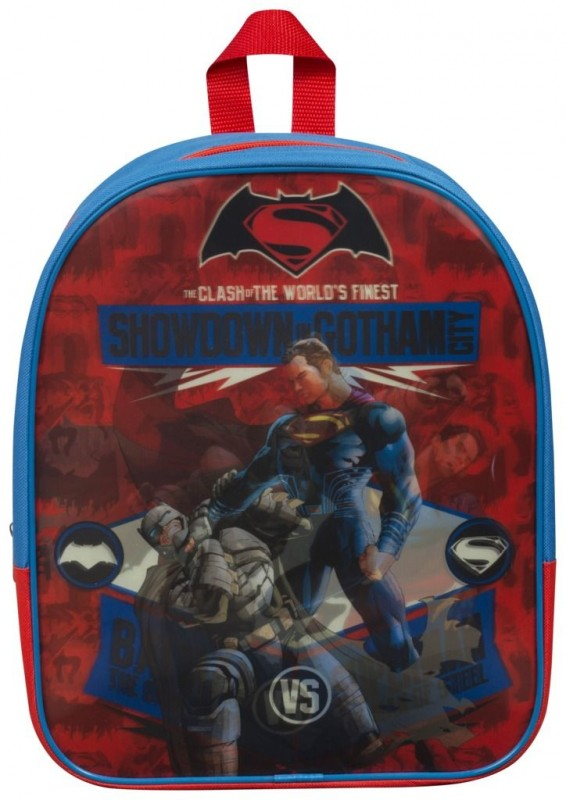 Měnící se dětský batoh Batman vs Superman 26 x 32 x 10 cm