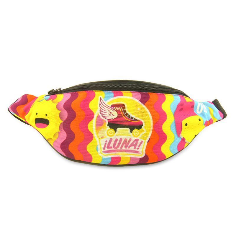 Barevná ledvinka na zip pro holky Soy Luna