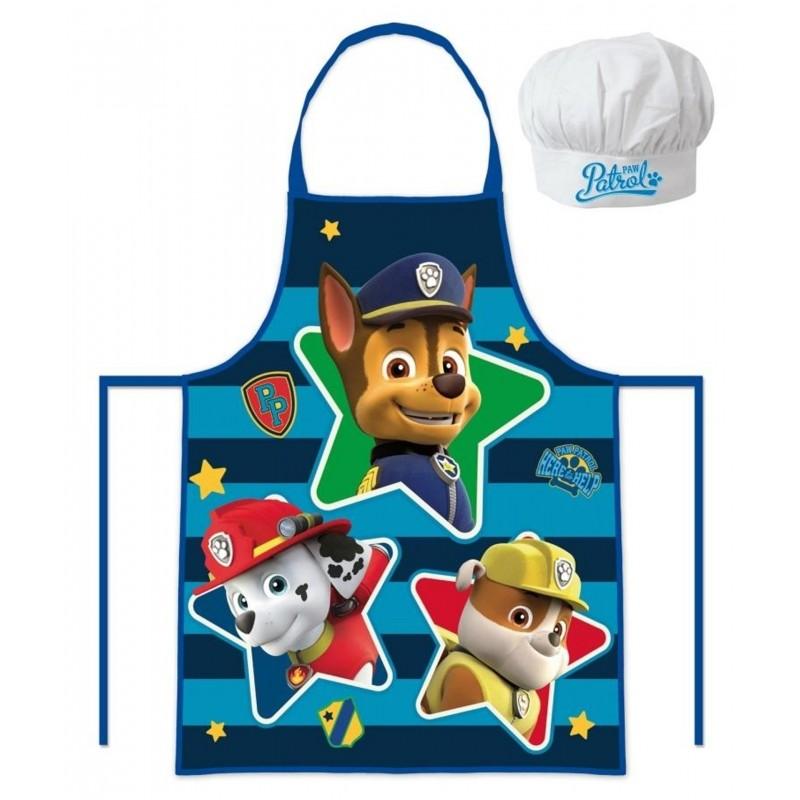 Kuchařská sada Paw Patrol Zástěra a kuchařská čepice