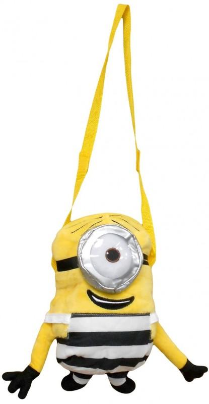 3D plyšová taška přes rameno Mimoni / Minions Eye