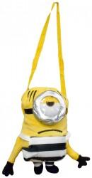 3D plyšová taška přes rameno Mimoni / Minions