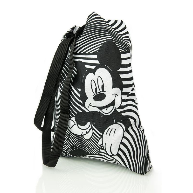 Plážová taška Mickey Mouse 41 x 34 cm černo / bílá