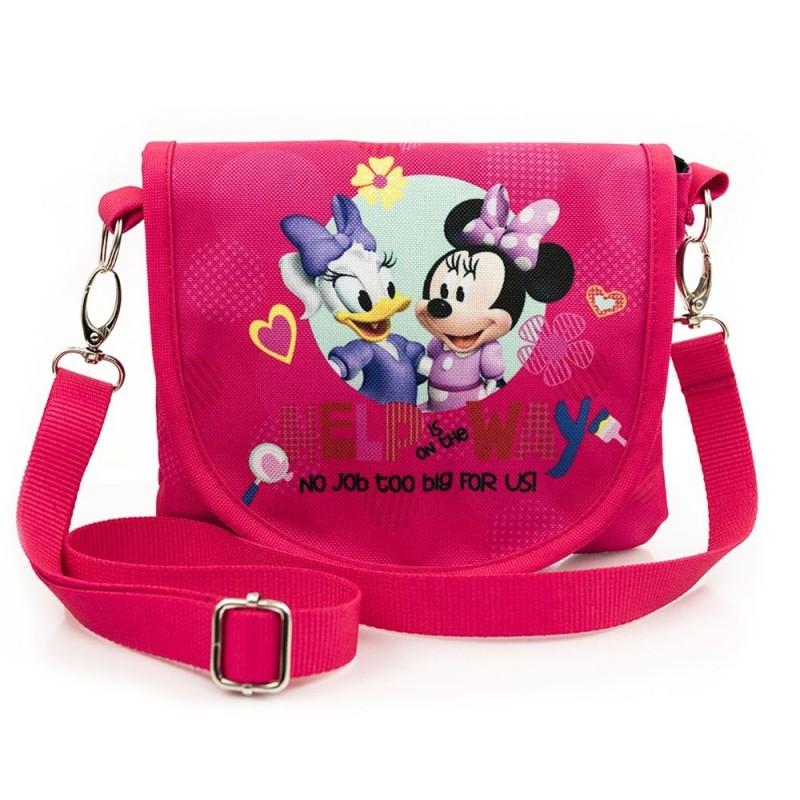 Dívčí kabelka na jedno rameno Minnie Mouse   červená a75eb3bc241