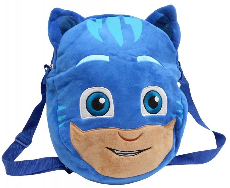 3D batůžek PJ Masks Connor 30 x 24 cm modrý
