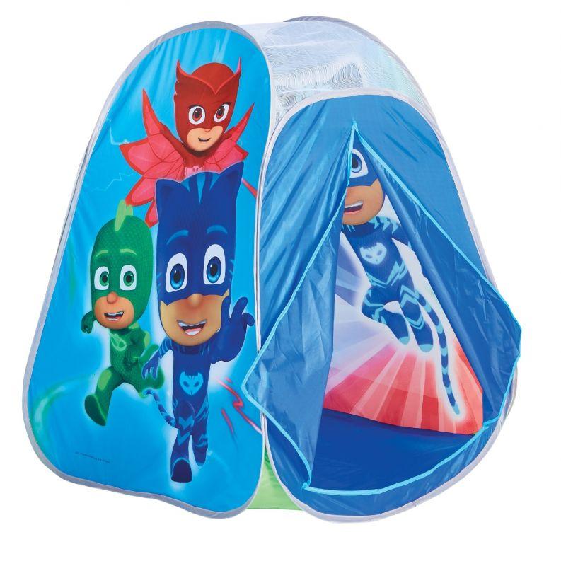 Dětský stan / domeček PJ Masks 90 x 75 x 75 cm Greg / Amaya / Connor