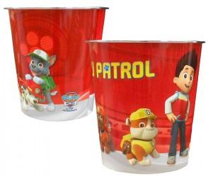 Odpadkový koš Paw Patrol / červený