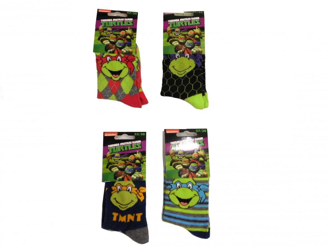 Chlapecké ponožky Želvy Ninja / Ninja Turtles  Leonardo / Donatello / Michelangelo / Raphael