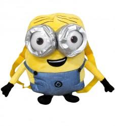 Dětský plyšový batoh / Minions happy smile