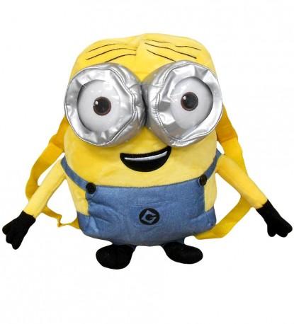 Dětský plyšová batoh / Minions happy smile