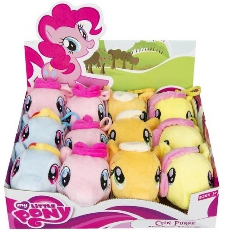 Látková peněženka s karabinkou / My Little Pony