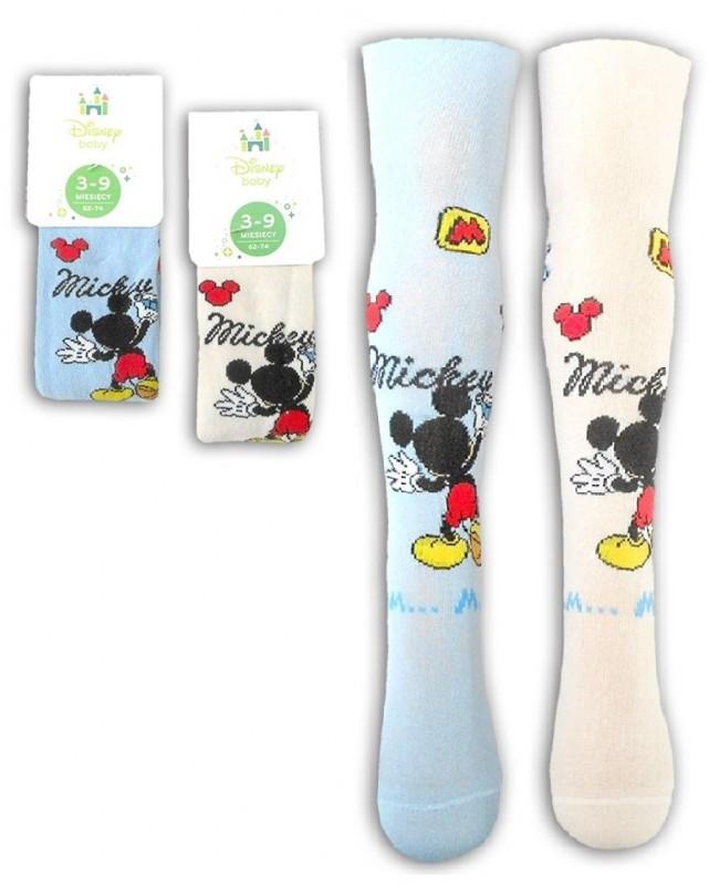 Dětské punčocháče Mickey Mouse velikost 62 - 74 cm / 80 - 86 cm
