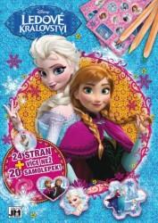 Cvičebnice,sešit A4+ Frozen-Ledové Král.