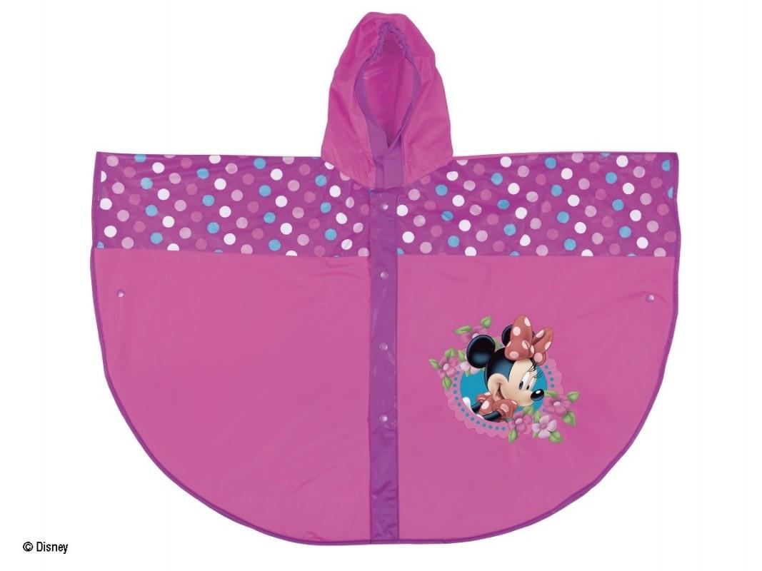 Dívčí pláštěnka / pončo růžovo - fialové Minnie Mouse velikost 3 - 8 let