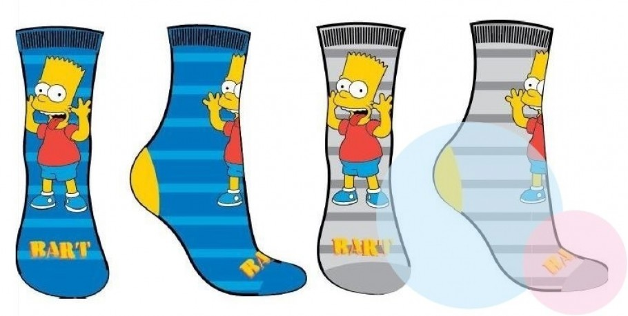 df64516b6bc Ponožky Bart Simpson