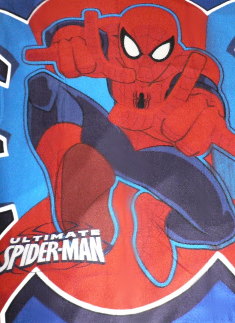 Deka , přikrývka Spiderman 150 x 120 cm