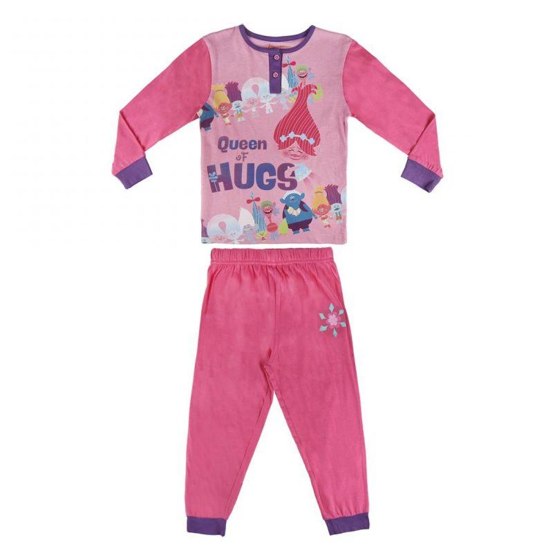 911377262ef Dívčí pyžamo růžové Poppy Trollové   Trolls velikost 92 - 122 cm    vecizfilmu
