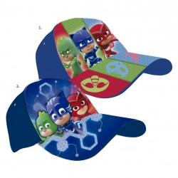 Kšiltovka PJ Masks Greg / Pyžamasky modrá