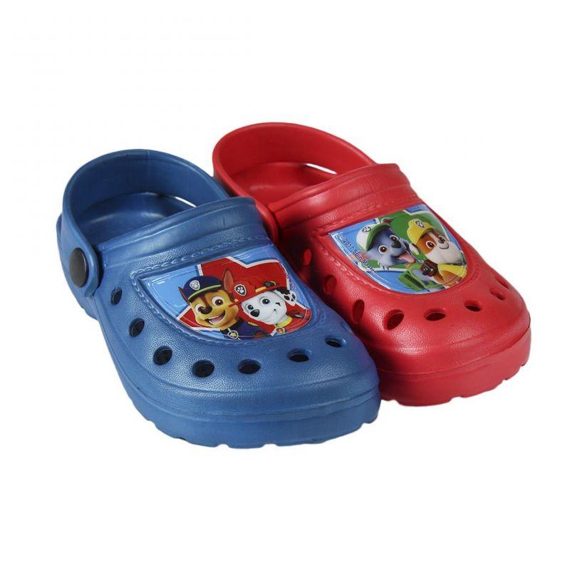 Chlapecké plážové sandále Tlapková Patrola / Paw Patrol velikost 23 - 29 Chase / Marshall / Rocky / Rubble