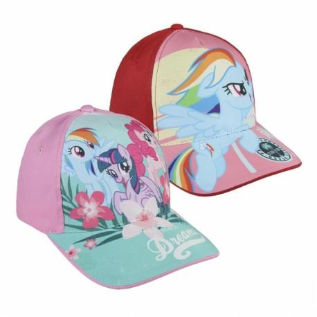 Dívčí kšiltovka My Little Pony velikost 53 cm růžová / červená