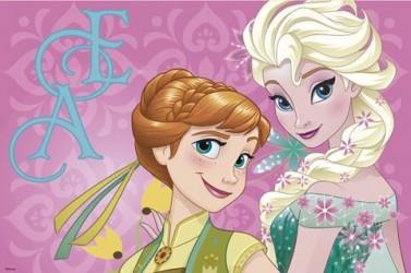 Podložka Ledové království / Frozen 43 x 28 cm