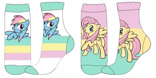 Dívčí ponožky My Little Pony / velikost 23 - 34