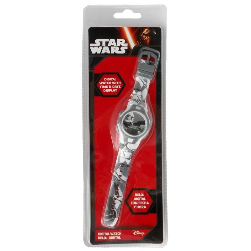 Chlapecké digitální hodinky Star Wars / Šedé