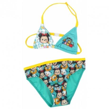 Dívčí dvojdílné plavky Tsum Tsum modré velikost 4 - 10 let 8a35e952a6