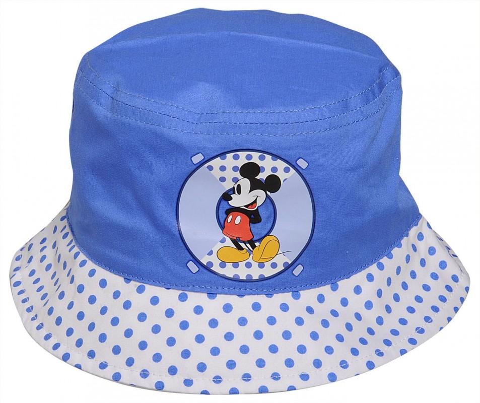 Chlapecký dětský klobouček Mickey Mouse velikost 46 / 48 / 50 cm