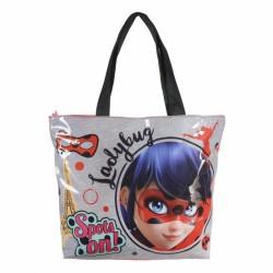Plážová taška na zip  Miraculous Ladybug / Zázračná Beruška