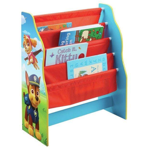 Dětská dřevěná knihovna Paw Patrol / Tlapková Patrola 60 x 51 x 23 cm