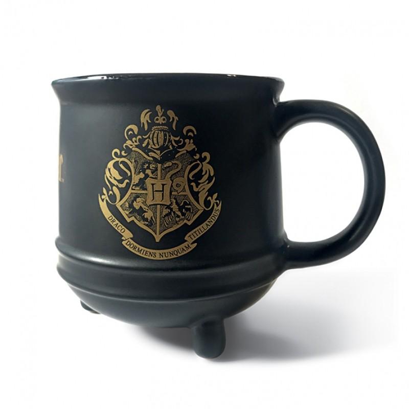 Keramický hrnek Harry Potter / černý / matný