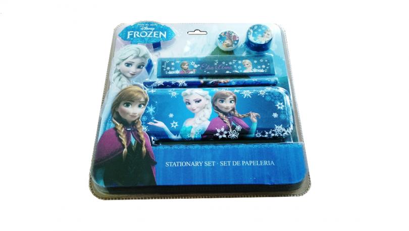 Školní sada s pouzdrem Frozen / vecizfilmu