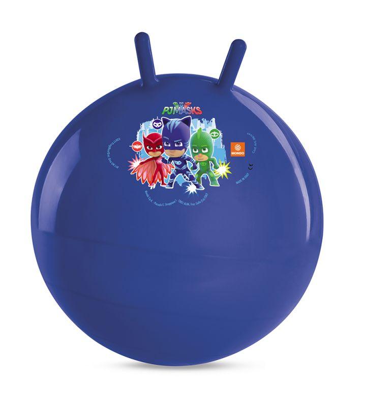 Skákací balón s úchyty PJ Masks Greg / Amaya / Connor