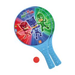Plastové pálky s míčkem PJ Masks Greg / Amaya / Connor