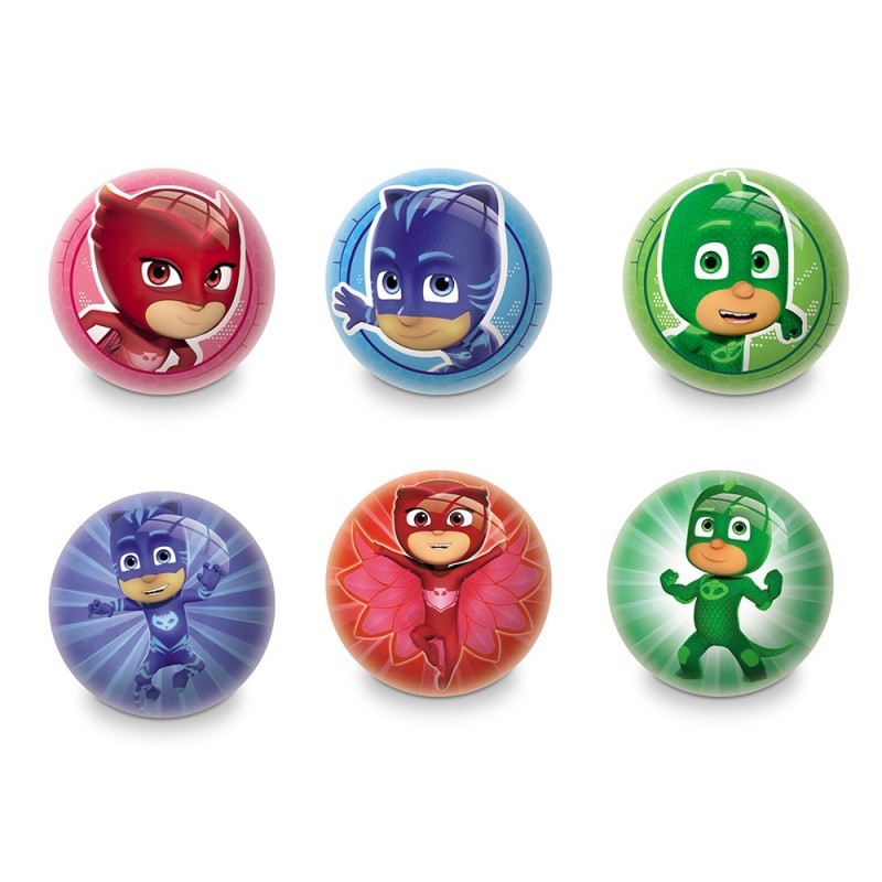 Malý míček PJ Masks modrý / zelený / červený 6 cm