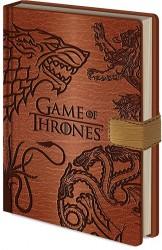 Blok / Zápisník A5 Hra O Trůny / Game Of Thrones Sigils