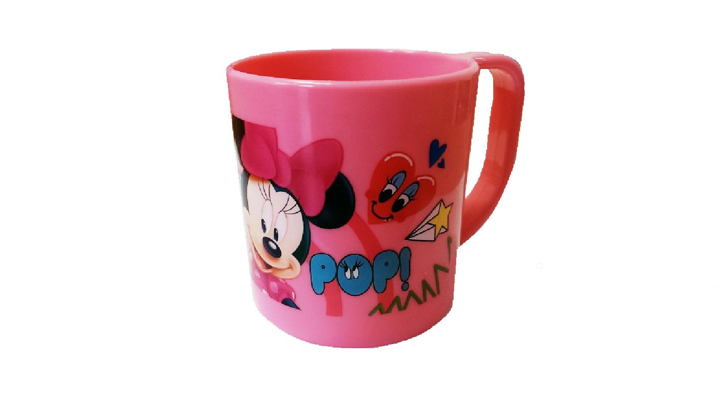 Plastový hrnek Minnie Mouse / růžový 230 ml