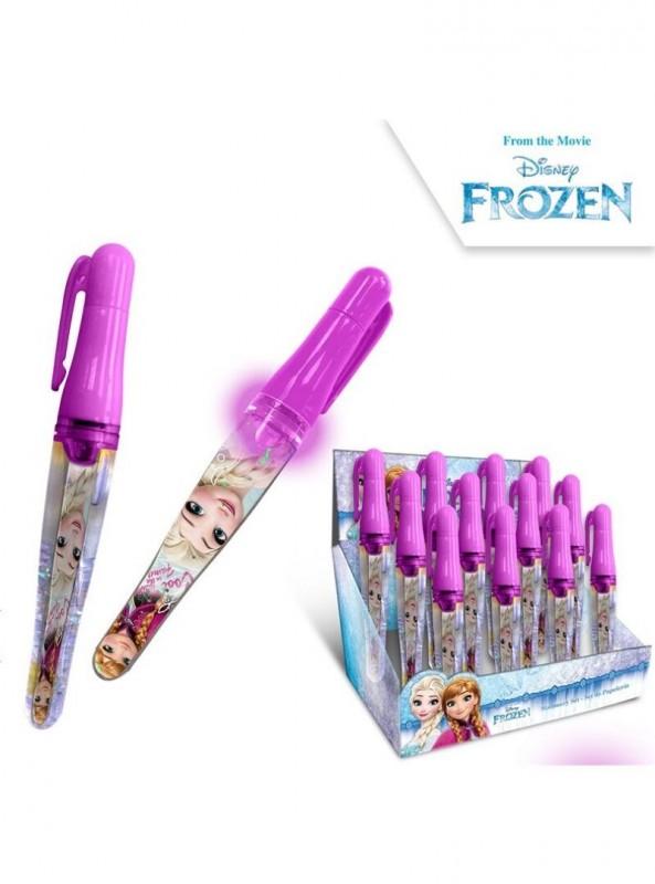 Svítící propiska Frozen / vecizfilmu