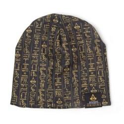 Úpletová zimní čepice Assassin's Creed Origins Hieroglyphs  / Uni / vecizfilmu