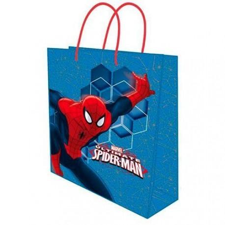 Dárková taška Spiderman / 26x32x10cm / vecizfilmu