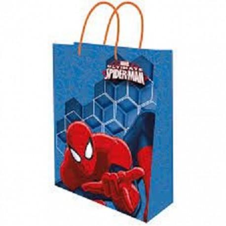 Dárková taška Spiderman / 18x23x10cm / vecizfilmu