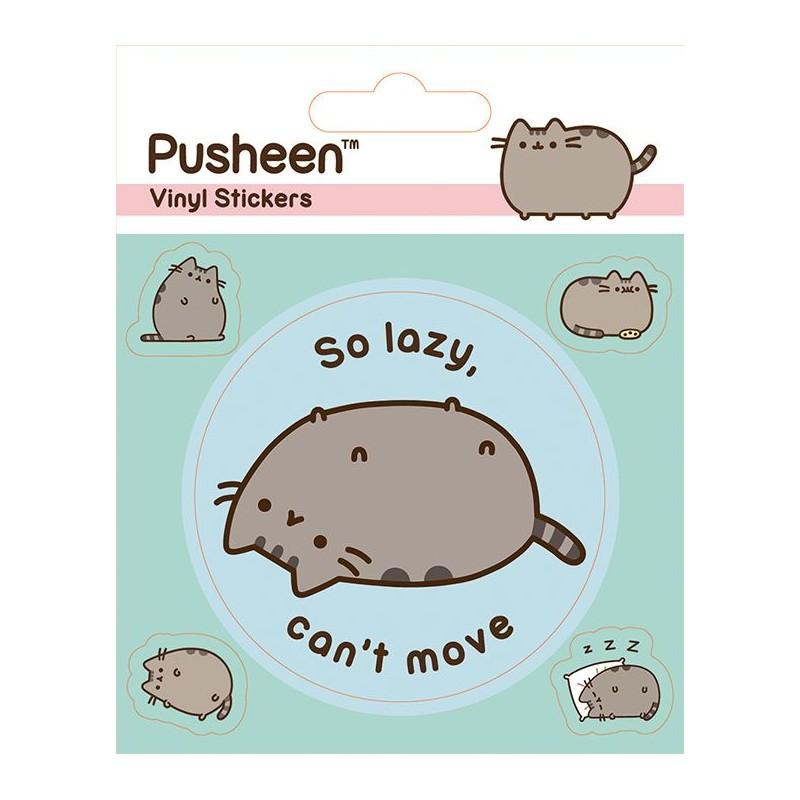 Nálepky Pusheen / Lazy / vecizfilmu