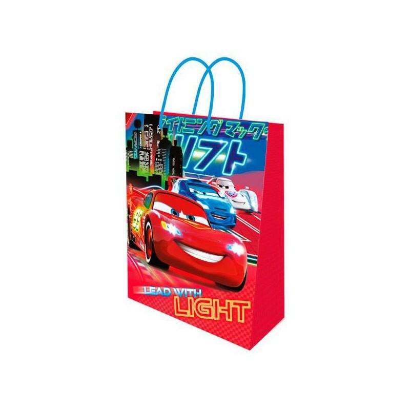 Dárková taška Cars / Auta / 23x18x10cm / vecizfilmu
